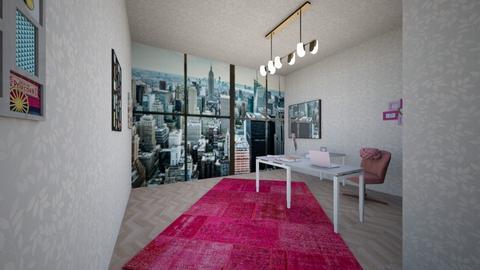 Lady boss AKA pink boss - Office - by Jayox0808080