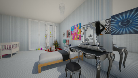 Awsomness Room - Modern - Bedroom - by epdancer