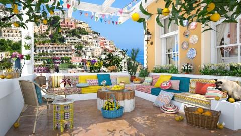 Positano Terrace - Eclectic - Garden - by maja97
