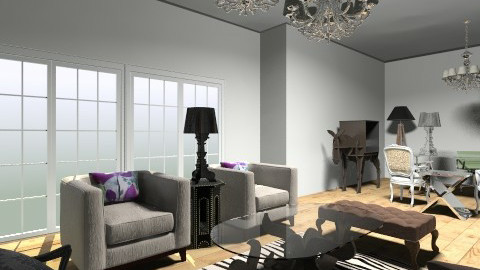 my home office - Glamour - Office - by flavio mendoza triana