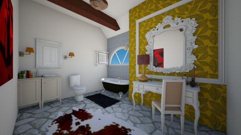 bathroom design - Bathroom - by trAnsu