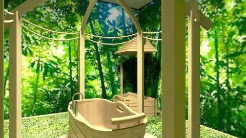 Outdoor Bathroom - Classic - Bathroom - by lolablexx