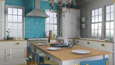 Good Eats - Kitchen - by jenshadow_222
