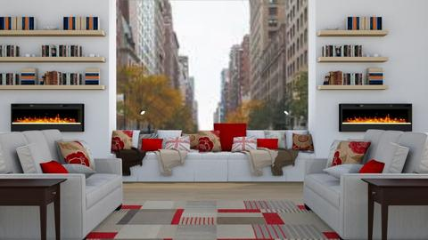 English Living - Modern - Living room - by millerfam