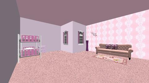 Pink kids room - by evalclarkson