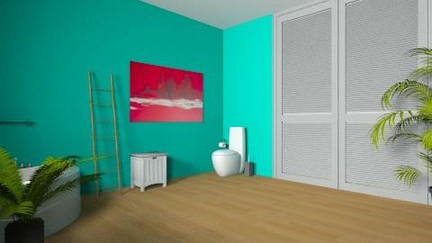 La SDB de Claire  - Modern - Bathroom - by coccinelledu28