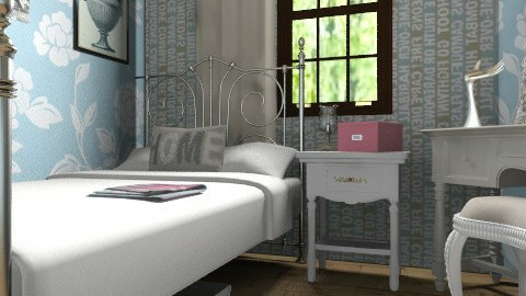 Frenchified Attic  - Country - Bedroom - by BambooPenguin