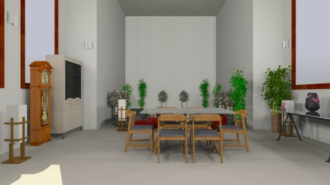 Inspired by Levant, Londo - Living room - by Mitchell Silkman