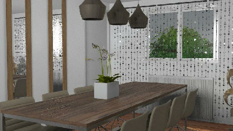 RR18_BatiQue - Dining Room - by 3rdfloor