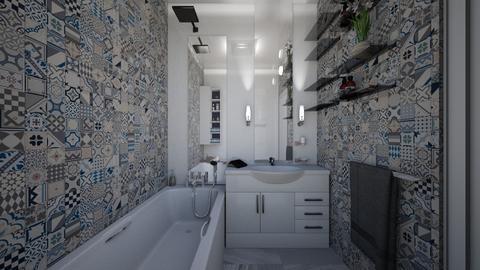 badezimmer - Classic - Bathroom - by flowerevgeniya