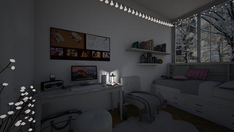 My norwegian teen room - Bedroom - by nevenadesko