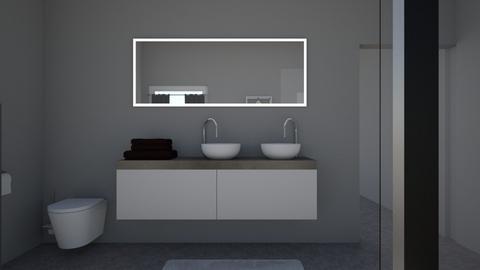 Bathroom - Modern - Bathroom - by Abby Atkins