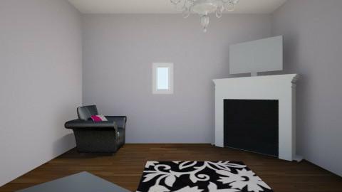purple living room  - Living room - by grace meiner