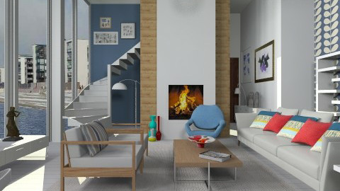 January 2014 - Modern - Living room - by janip
