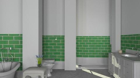 Moss Green2 - Classic - Bathroom - by missblue