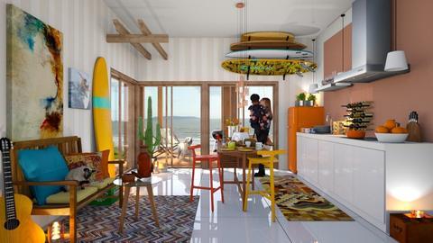 Surf culture kitchen - Kitchen - by zarky