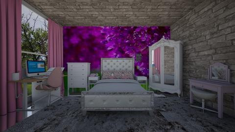 bed 1 - Bedroom - by guyciara87