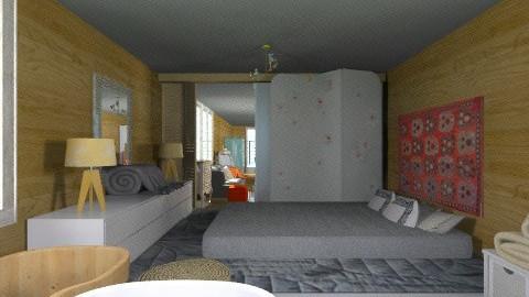 Wide beam - Eclectic - Bedroom - by mrschicken