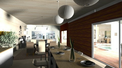 kitchen2 - Modern - Dining room - by nesta