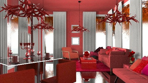 vampire's abode - Glamour - Living room - by Your well wisher