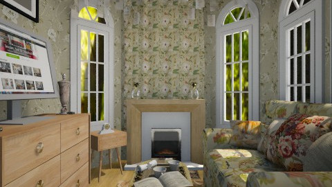 william - Vintage - Living room - by Sherrycress