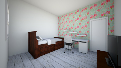 anes soverom  - Vintage - Bedroom - by Ane Berntsenh
