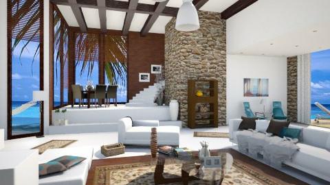 beach house  - Modern - Living room - by Senia N