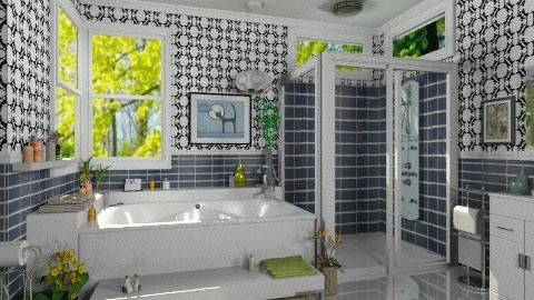 Modern bathroom - Modern - Bathroom - by Bibiche