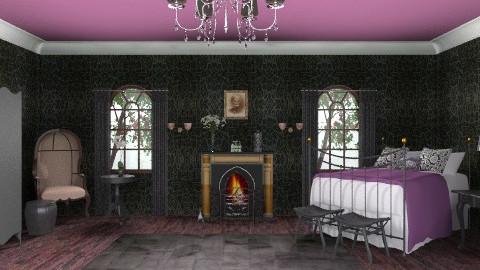 Gothic bedroom - Vintage - Bedroom - by deepthinker