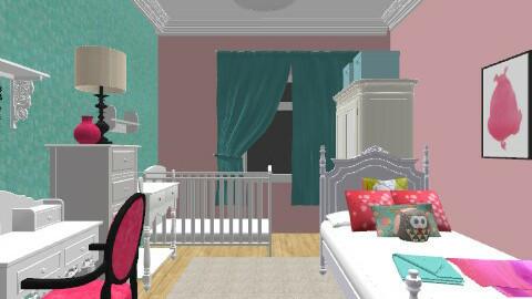 bebek - Feminine - Kids room - by bibiboo