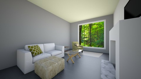 A Pop Of Gray - Living room - by jtvcoco