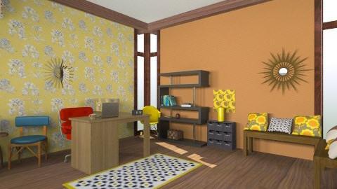 Retro Office Reception - Retro - Office - by JazzyAllen