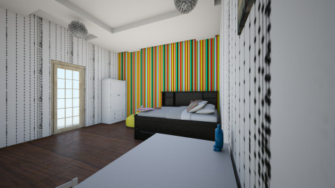 vb - Retro - Kids room - by ValeriaZZZ
