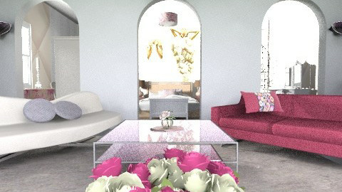 Pink passion - Feminine - Bedroom - by amritbahra