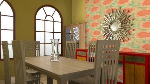 Oak dinning room - Minimal - Dining room - by KtDundee