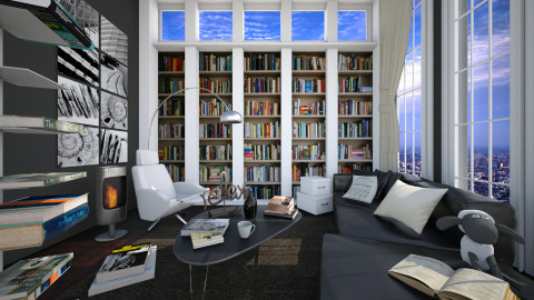 relax and read - Modern - Living room - by Senia N