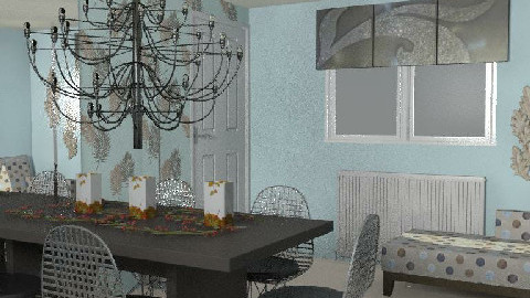 RR18_2 wed - Dining Room - by FRANKHAM