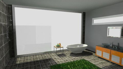 eco friendly bathroom 2 - Eclectic - Bathroom - by tillsa98