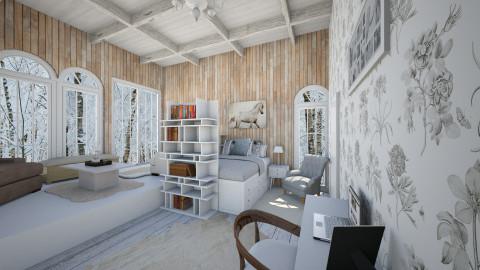 Cozy - Bedroom - by honeylynAmbos