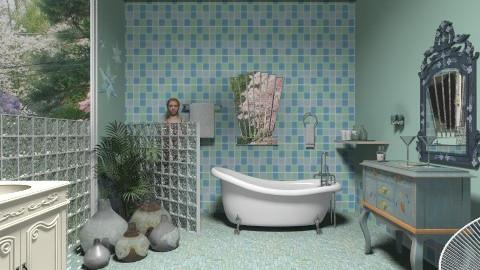 Amanda - Eclectic - Bathroom - by milyca8