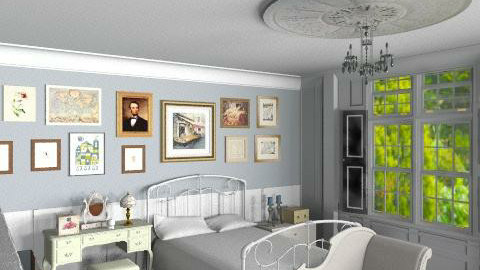country bedroom - Classic - Bedroom - by brianclough