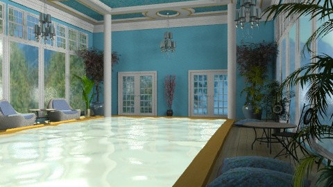 Interior Pool - Classic - by Bibiche