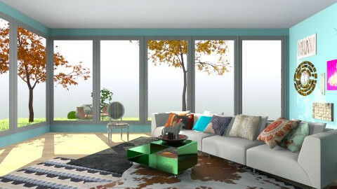urban fall time - Living room - by bigskylibby