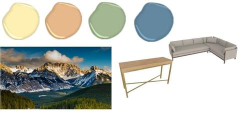 Mountain Mood Board - by ClaireCora