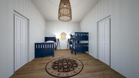 Kids Bedroom - Bedroom - by Anna Weyer