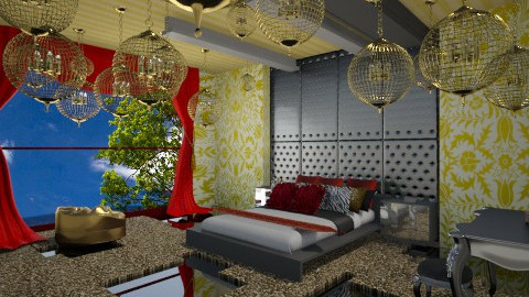 Maeen IDesign - Eclectic - Bedroom - by KhoKho Yemen