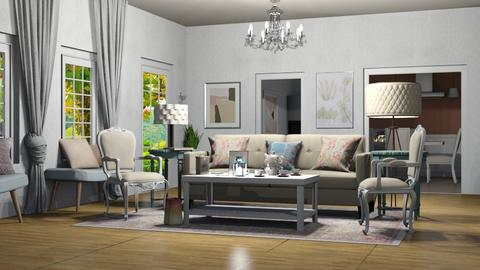 Shabby_Chique - Living room - by RaeCam