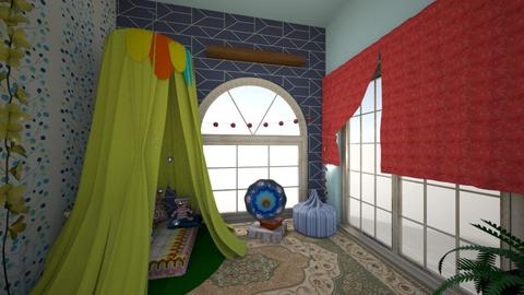 Colorful Dreams - Bedroom - by WubMaxWax