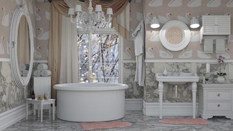 Swan - Bathroom - by Liu Kovac