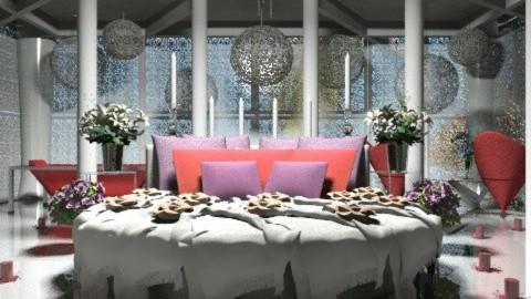 ambiente sensual  - Glamour - Bedroom - by Your well wisher